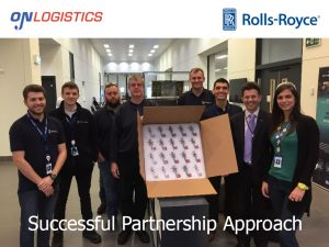 OnLogistics Rolls Royce Aerospace Logistics